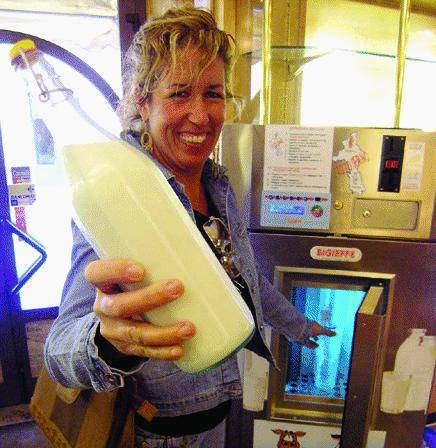 Latte «munto» dal distributore