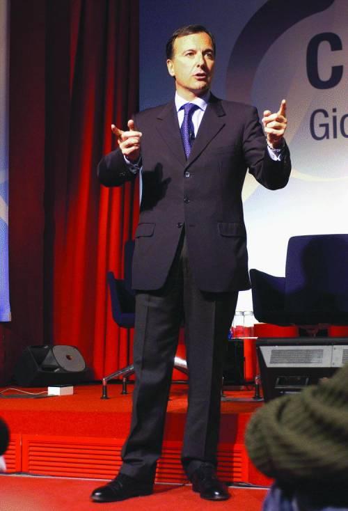 Fassino e Rutelli «scioperano» contro il premier  a Mediaset