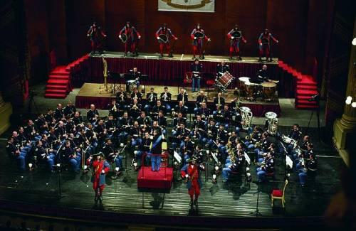 Gog, la banda dell'Esercito e un concerto in cattedrale