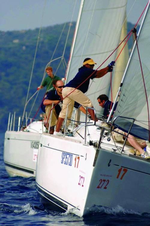 Studenti Master all'esame di vela
