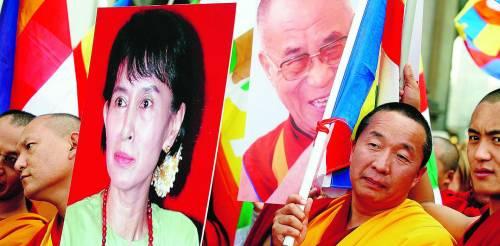 Birmania, l'inviato Onu incontra la Nobel Aung