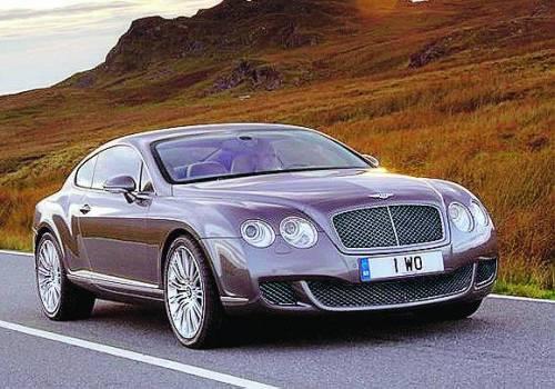 Bentley Continental GT, una suite da oltre 300 orari