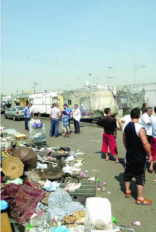 Triboniano, i rom rubano l'elettricità