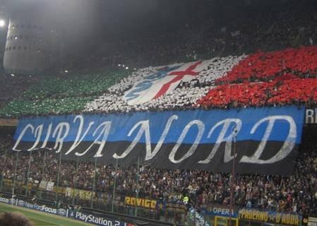 Insulti razzisti: curva dell'Inter chiusa per un turno