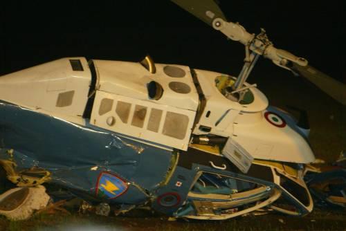 Precipita un elicottero muoiono due poliziotti
