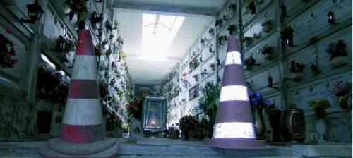 Quando piove il cimitero finisce sott'acqua