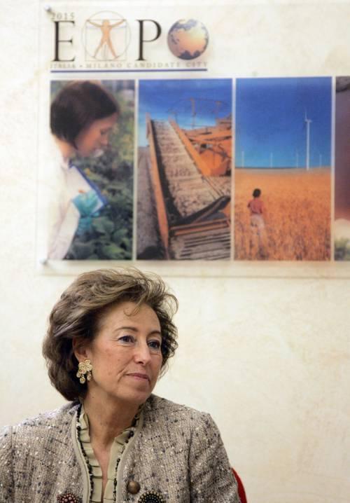 Expo, il governo nomina la Moratti commissario