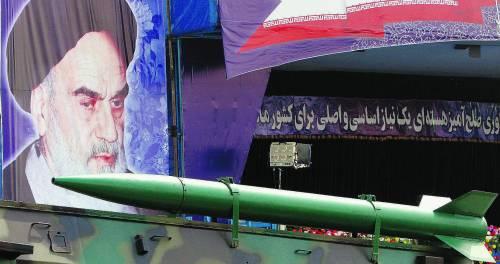 L'Iran spara un altro missile sul nucleare