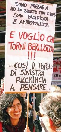 """""""Io, di sinistra, vi dico: voglio che torni Silvio"""""""