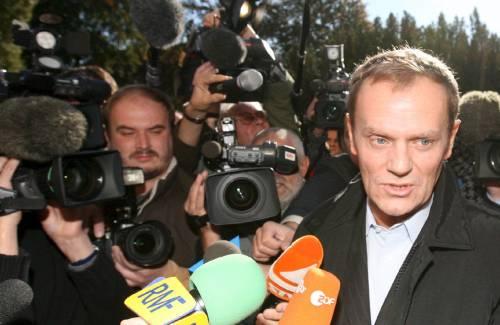 Polonia, Tusk è in vantaggio<br /> sconfitta del premier Kaczynski