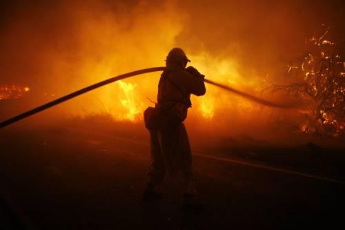 Incendi in California<br /> Forse c'è Bin Laden dietro
