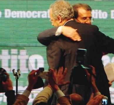 Nasce il Pd, Prodi gela Veltroni: non mollo a dispetto dei serpenti
