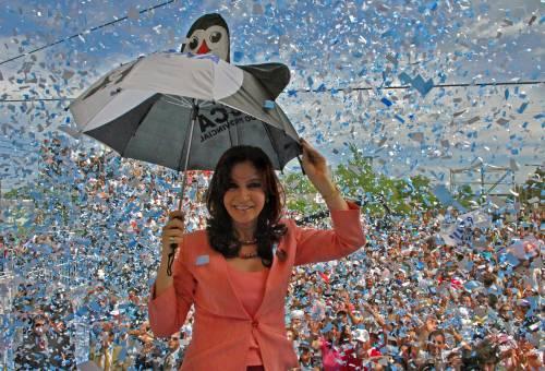 Cristina, da First Lady a Presidenta