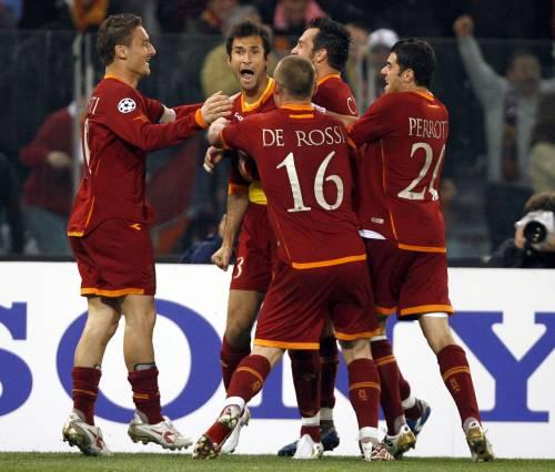 La Roma senza Totti? Nel derby è imbattuta