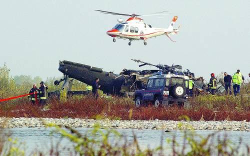 Cade un elicottero della base di Aviano Morti 6 militari Usa