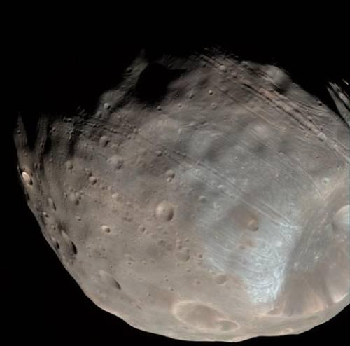 Fobos, la più grande luna di Marte