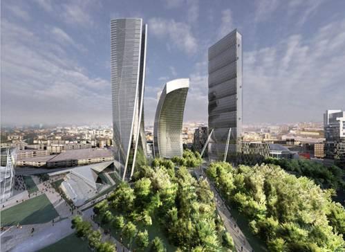 """Sgarbi e la Lega contro i grattacieli: """"Referendum civico per le torri"""""""