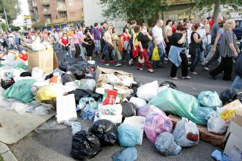 I rifiuti campani in treno verso la Germania