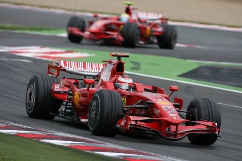 Gp Francia, doppietta Ferrari  Massa sulla scia di Senna