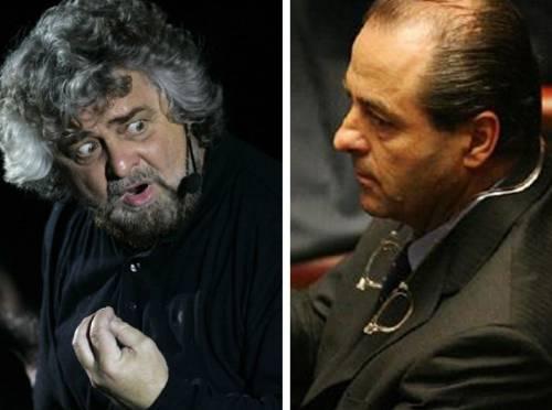 Di Pietro-Grillo: unica regia, stessa strategia sul web