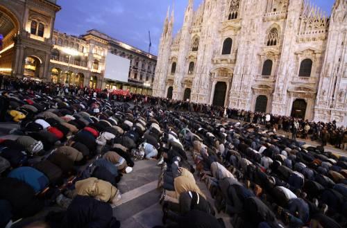 Quel silenzio sulla moschea in piazza Duomo
