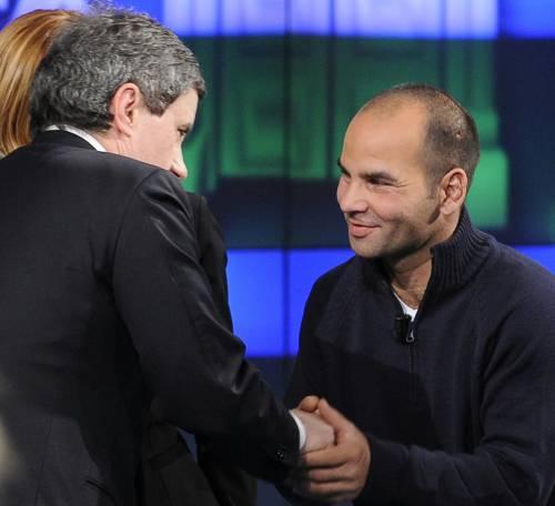 """Caffarella, Racz racconta in tv:   """"Avrei voluto fare il monaco"""""""