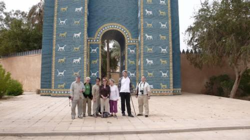 Irak, ecco la prima turista