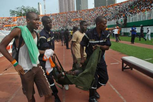 Costa d'Avorio, crollo allo stadio: 19 vittime