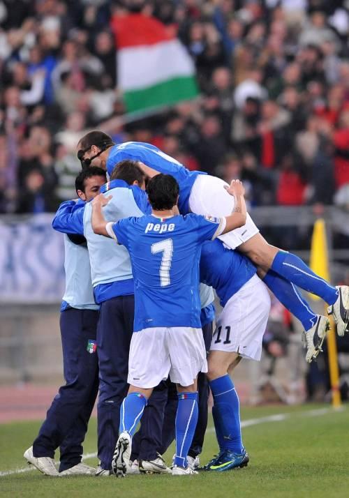 Italia e Irlanda 1 a 1  Finisce in parità il derby  fra Lippi e Trapattoni