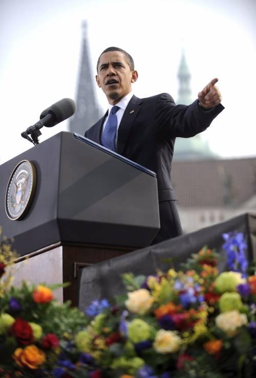 """Obama: """"Pace senza armi nucleari""""  Usa e Francia divisi sulla Turchia"""