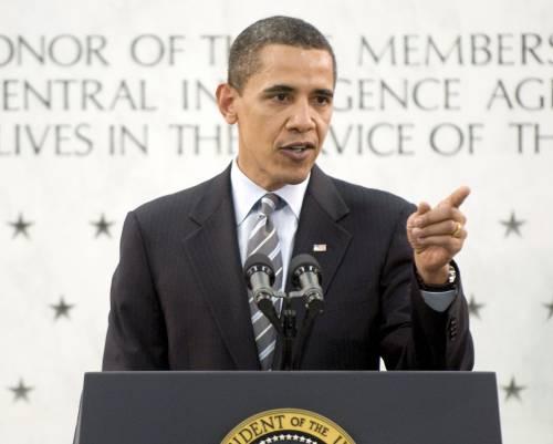 """Sicurezza, Obama alla Cia: """"Rispettare le leggi"""""""