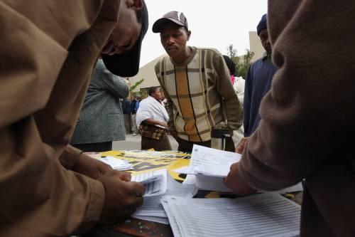 Elezioni in Sudafrica,  Zuma in testa: 64%