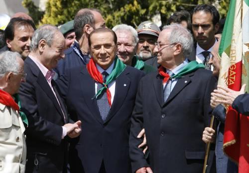 """Berlusconi: """"Il disegno di legge  sui reduci di Salò sarà ritirato"""""""