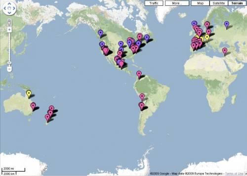 """La mappa della """"febbre suina"""" nel mondo"""
