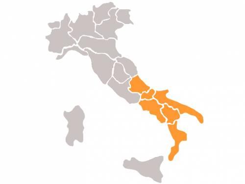 Lista dei candidati al Parlamento Europeo - Circoscrizione Italia meridionale