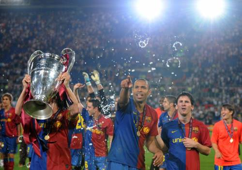 Barcellona sul tetto d'Europa