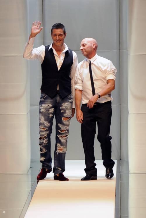 """Moda, ecco l'ultimo pettegolezzo  """"Dolce & Gabbana lasciano..."""""""