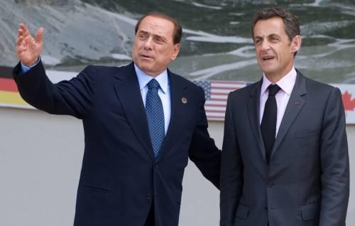 """Berlusconi: """"Contro crisi  un piano per chi soffre""""  Obama saluta Gheddafi"""