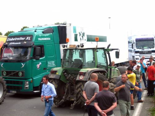 Latte, la protesta invade Strasburgo