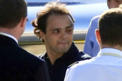 """Massa torna a casa:  """"Sarò presto in pista"""""""