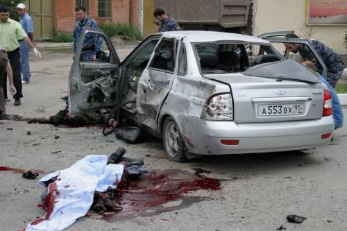 Cecenia, kamikaze contro i poliziotti: 4 vittime