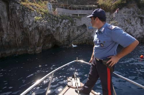 Capri, riaperta la Grotta azzurra:<br /> &quot;Non ci sono sostanze aggressive&quot;