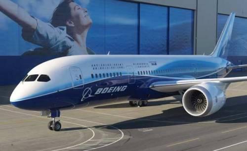 Boeing, il nuovo 787 entro fine anno