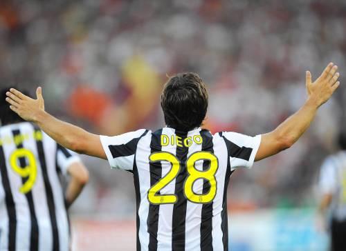E' una Juventus a tutto Diego<br /> Lazio, Samp e Genoa in vetta