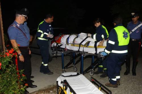 Stermina la famiglia<br /> Poi tenta il suicidio:<br /> è ricoverato in coma