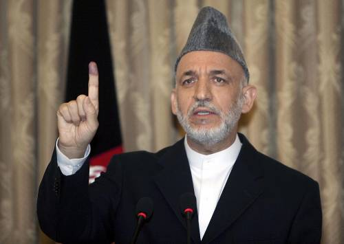 """Karzai verso la rielezione  """"Dialogo con i talebani"""""""