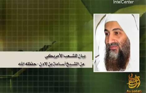 Osama agli Usa: liberatevi di Israele