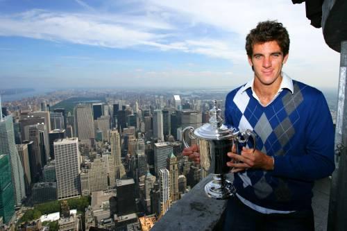 Tennis, Del Potro dà   una lezione a Federer