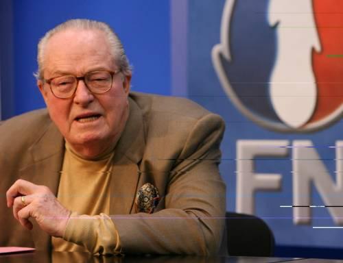 Jean-Marie Le Pen, attuale presidente onorario del Fronte Nazionale