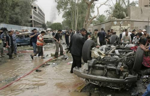 Due attentati a Bagdad, almeno 165 i morti